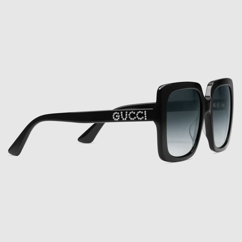 GUCCI Rectangular frame sunglass