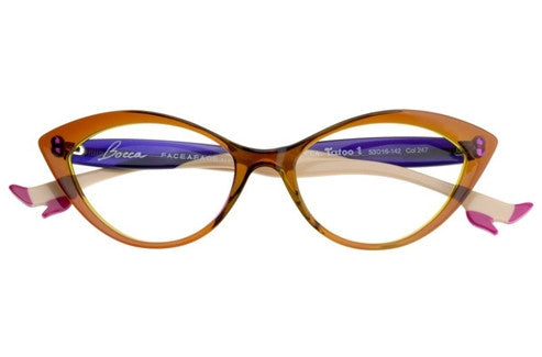Face a Face Bocca Tatoo 1 c.247 Eyeglasses