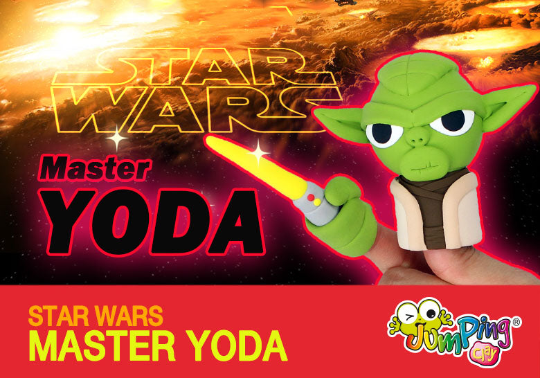 Create Master Yoda - Kids Clay Project