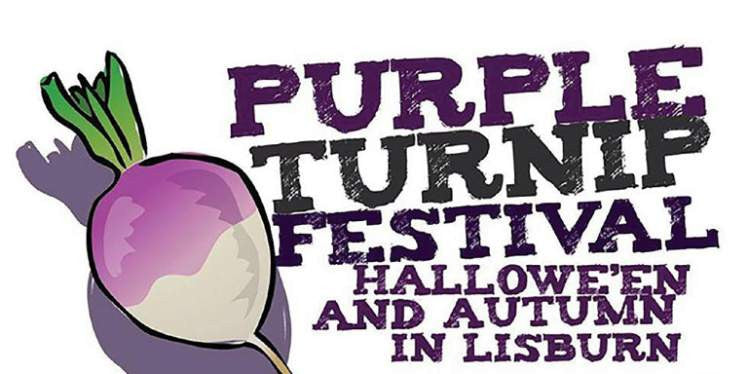 Halloween at the Purple Turnip Festival in Lisburn