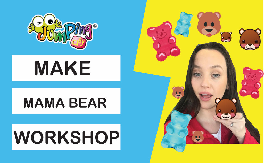 Make Mama Bear - Online Art Tutorial Workshop