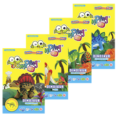 Dino Series | Clay Modelling Kits for Kids