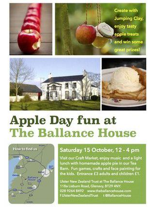 Apple Day at Balance House