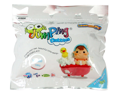 Jumping Bubbles - Kids Air Dry Foam Clay - JumpingClay