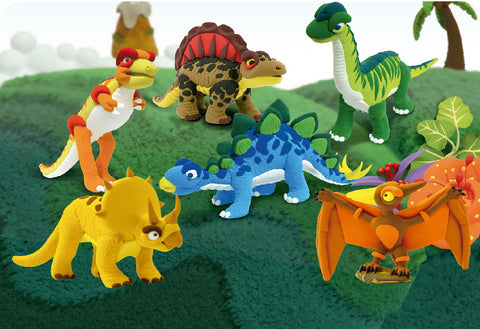6 Dinosaur Modelling Kits | Bundle Deal | Save £11.70