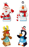 Santa & Friends - Christmas Tree Decorations - Air Dry Clay Modelling Set