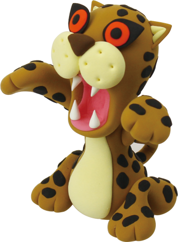 Cheetah | Kids Clay Modelling Kit