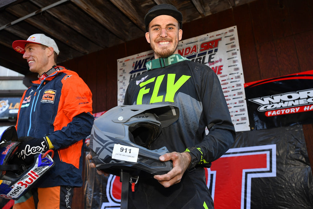 FlowVision's Jacob Argubright Podium's at the AMA West Harescamble Finale.....