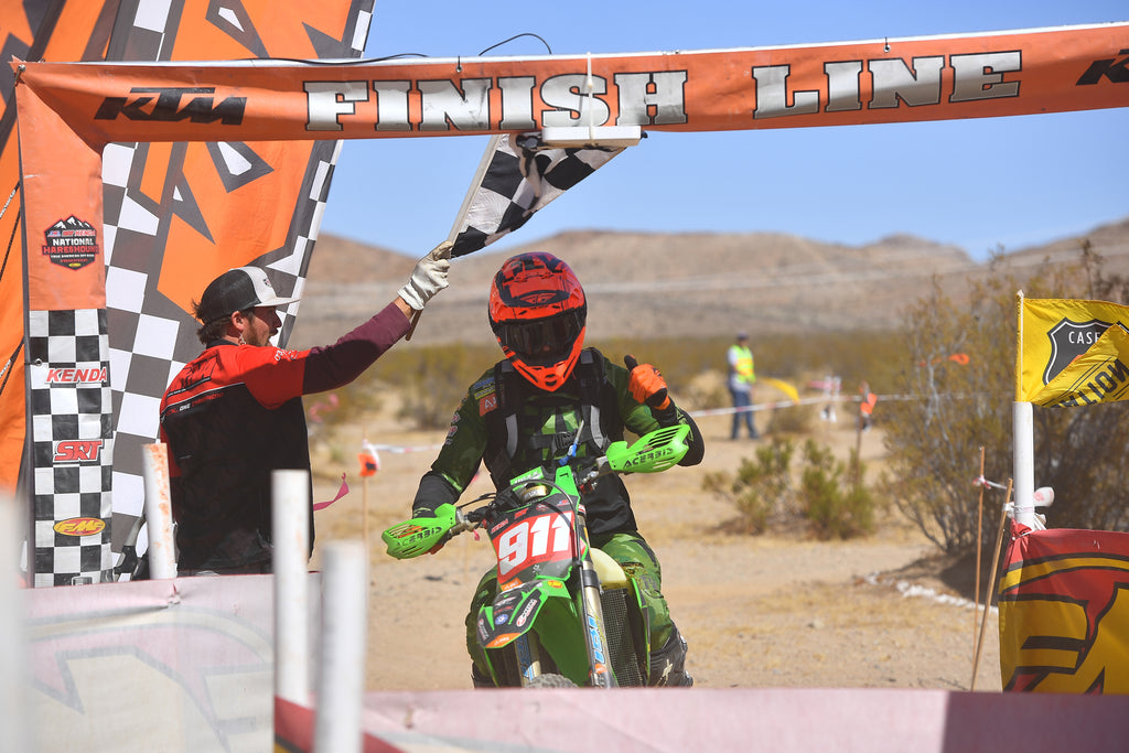 FLOW VISION'S JACOB ARGUBRIGHT WINS THE PENULTIMATE ROUND OF THE 2019 AMA NATIONAL HARE AND HOUND SERIES IN LUCERNE VALLEY, CA