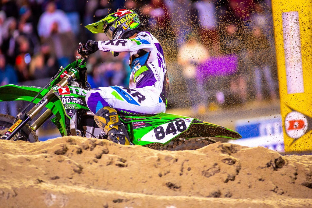 FlowVision's Bubba Pauli, Scotty Wennerstrom and Joan Cros Daytona Supcross Race Recap