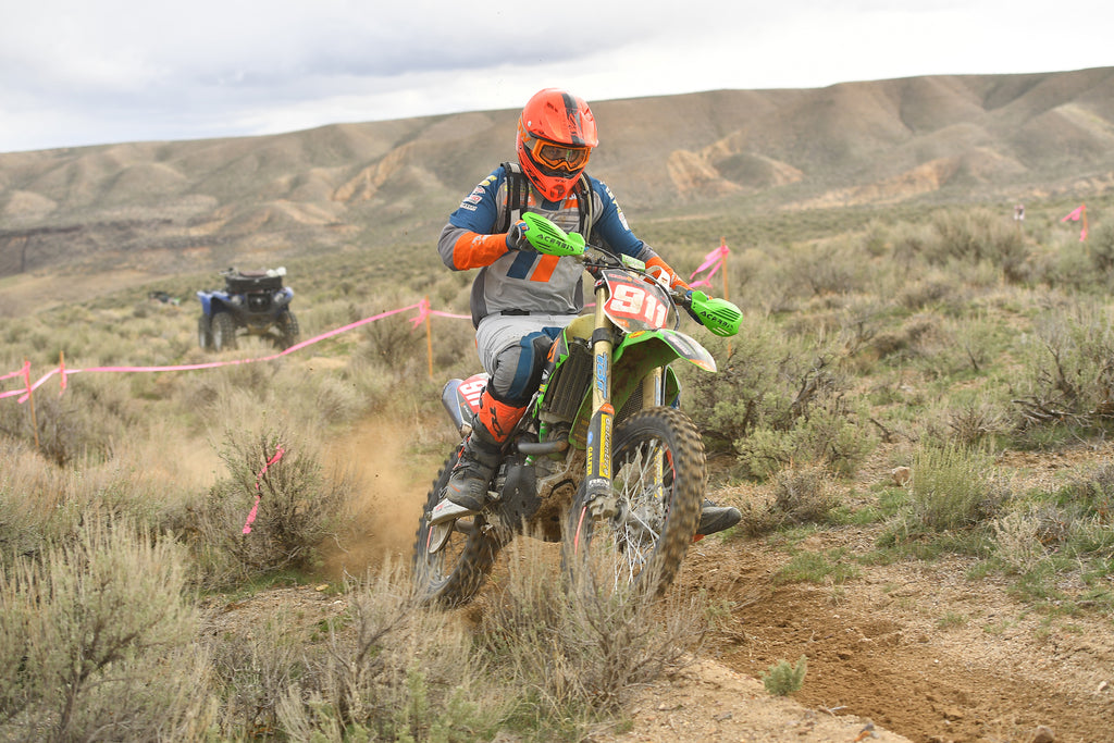FlowVision's Jacob Argubright Claims 2nd Overall at Idaho National Hare and Hound