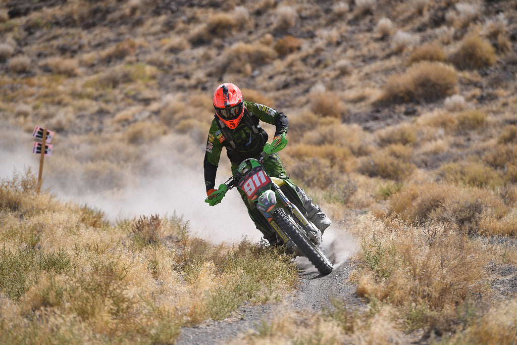 FLOWVISION's JACOB ARGUBRIGHT WINS ROUND 7 OF AMA NATIONAL HARE AND HOUND IN LOVELOCK, NEVADA