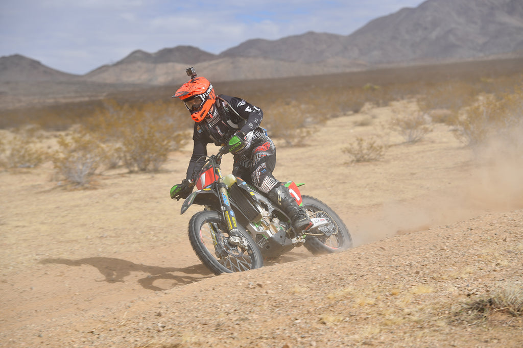 FlowVision's Jacob Argubright Wins AMA National Hare & Hound Opener!
