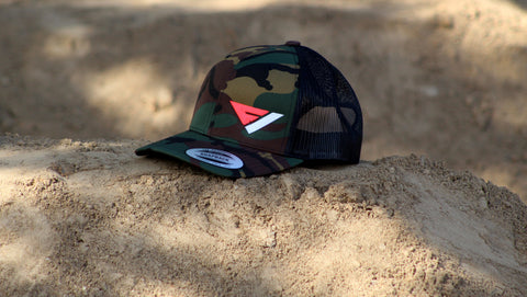 FlowVision® Logo Snapback: CAMO PINK