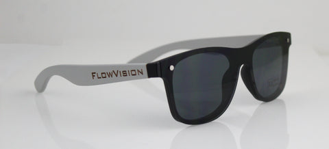 Flow Vision Rythem™ Sunglasses: Grey/Black