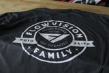 FlowVision Vision Faith, Family and Moto: Gray