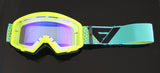 Flow Vision Youth Section™ Motocross Goggle: Flo/Blue/Black