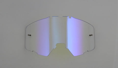 Flow Vision® Rythem/Section™ Motocross Lens: Translusent Pink