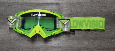FlowVision® Rythem/Section™ Film-Motocross System: Clear Blue