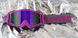 Flow Vision Rythem™ Motocross Goggle: Purple/Grey
