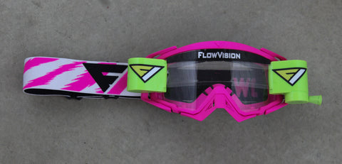 FlowVision® Rythem/Section™ Film-Motocross System: Clear