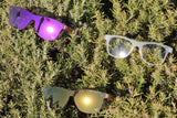 Flow Vision Rythem™ Sunglasses: Crystal