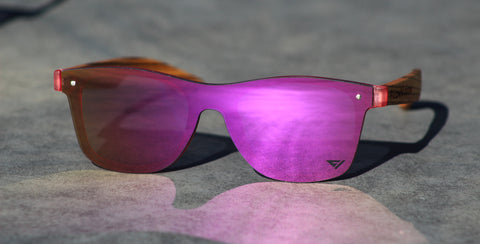Flow Vision Rythem™ Sunglasses: Purple