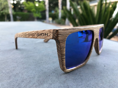 Flow Vision Section™ Sunglasses: Blue