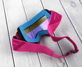 Flow Vision Youth Section™ Motocross Goggle: Purple/Pink