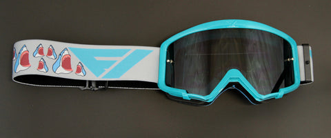 Flow Vision Youth Section™ Motocross Goggle: Sharks