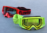 FlowVision® Rythem/Section™ Motocross Lens: Dual-Pane, Anti Fog Pro-Clear Yellow