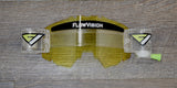 FlowVision® Rythem/Section™ Film-Motocross System: Clear Yellow