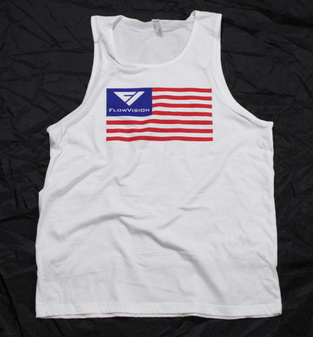 FlowVision® Freedom Tank Top: White