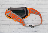 Flow Vision Rythem™ Motocross Goggle: Orange/Grey