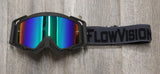 Flow Vision Rythem™ Motocross Goggle: Grey/Black