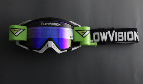 FlowVision® Rythem/Section™ Film-Motocross System: Mirrored Blue