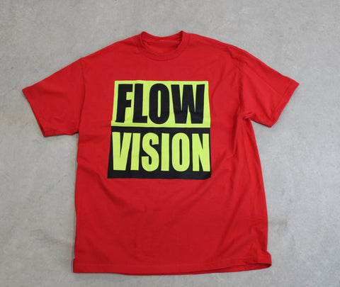 FlowVision Vision T-Shirt: Red