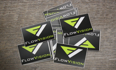Flow Vision® Motocross Goggles Stickers