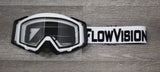 FlowVision® Rythem/Section™ Motocross Lens: Dual-Pane, Anti Fog Pro-Clear