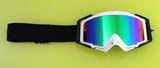 Flow Vision Rythem™ Motocross Goggle: Black Out