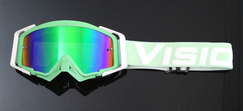Flow Vision Rythem™ Motocross Goggle: Mint