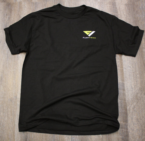 Flow Vision Corpo T-Shirt: Black