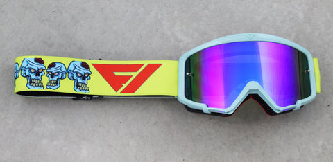Flow Vision Youth Section™ Motocross Goggle: Zombies