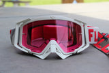 FlowVision® Rythem/Section™ Motocross Lens: Pink Clear