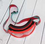 Flow Vision Youth Section™ Motocross Goggle: Red/Teal