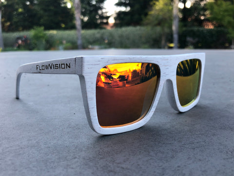 Flow Vision Section™ Sunglasses: Fire and Ice