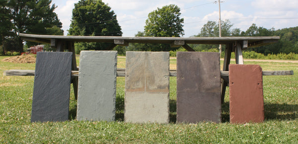 Bison Hill Stonecrafts Slate Colors