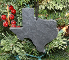 Texas Slate Ornament