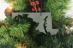 Maryland Ornament Grey Slate