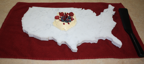 USA Marble Ice Cream Slab